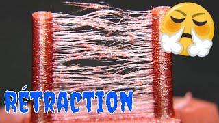 Rétraction, cheveux d'ange et stringing (Paramètres d'impression 3D)