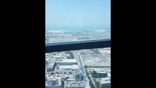 Fast elevator of JW Marriot Marquis Dubai