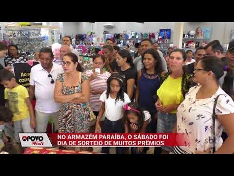 O Povo na TV: Armazém Paraíba sorteia prêmio para clientes