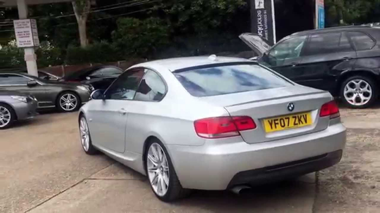 2007 bmw 320d m sport coupe auto youtube. Black Bedroom Furniture Sets. Home Design Ideas