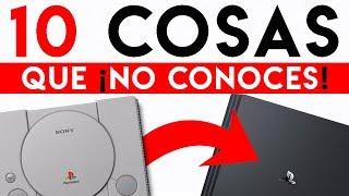 10 COSAS que NO SABES de PLAYSTATION SONY   Lo DESCONOCIDO y OCULTO de PS4, PS3, PS2 y PS1 (2019)
