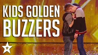 BEST Kids GOLDEN BUZZERS on Got Talent | Including Grace Vanderwaal, Laura Bretan & More!