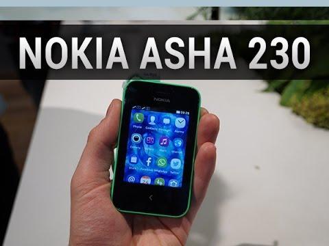 Nokia Asha 230, prise en main au MWC 2014 - par Test-Mobile.fr