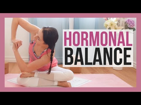30 min Yin Yoga for Hormones - Yoga for Adrenal Fatigue & Thyroid Issues