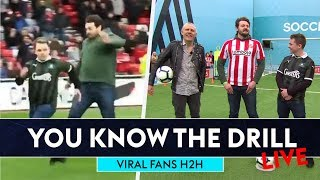 Viral Sunderland half-time fans go head-to-head on Soccer AM | You Know The Drill LIVE
