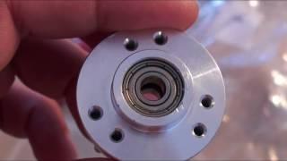 видео Самодельный валкодер из шагового двигателя