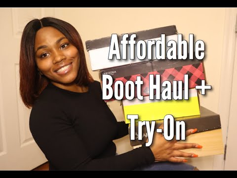 Affordable Fall Boot Haul | Boots Under $100