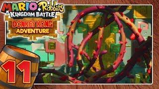 MARIO + RABBIDS DONKEY KONG ADVENTURE DLC 🍌 #11: Das verrankte goldene Tor