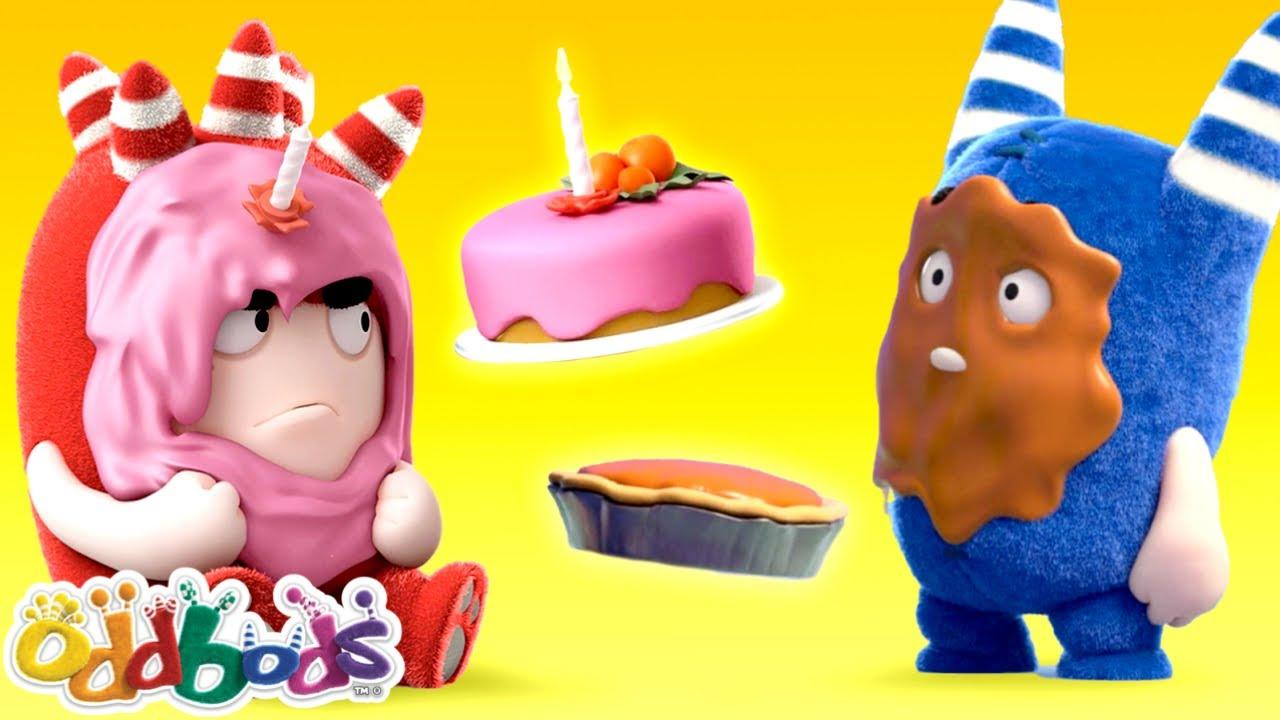 Giornata Di Torta In Faccia | Oddbods | Cartoni Animati Divertenti per Bambini