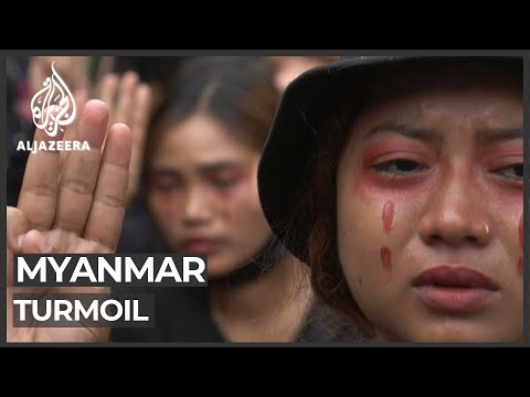 Myanmar protesters rally as Thailand slams military crackdown