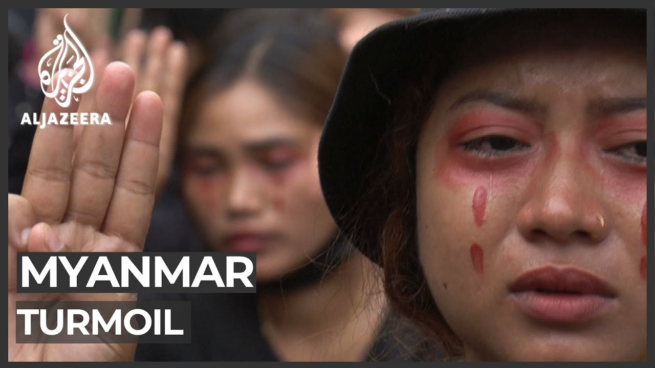 Myanmar protesters rally as Thailand slams military crackdown - Al Jazeera English
