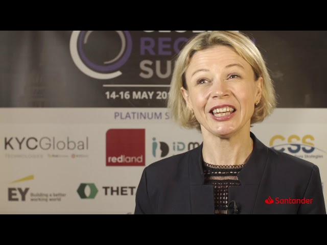 Global RegTech Summit 2019 - Interview with Dorota Zimnoch, Santander