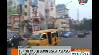 5 Cagub-Cawagub Riau Ditantang Petugas Kebersihan