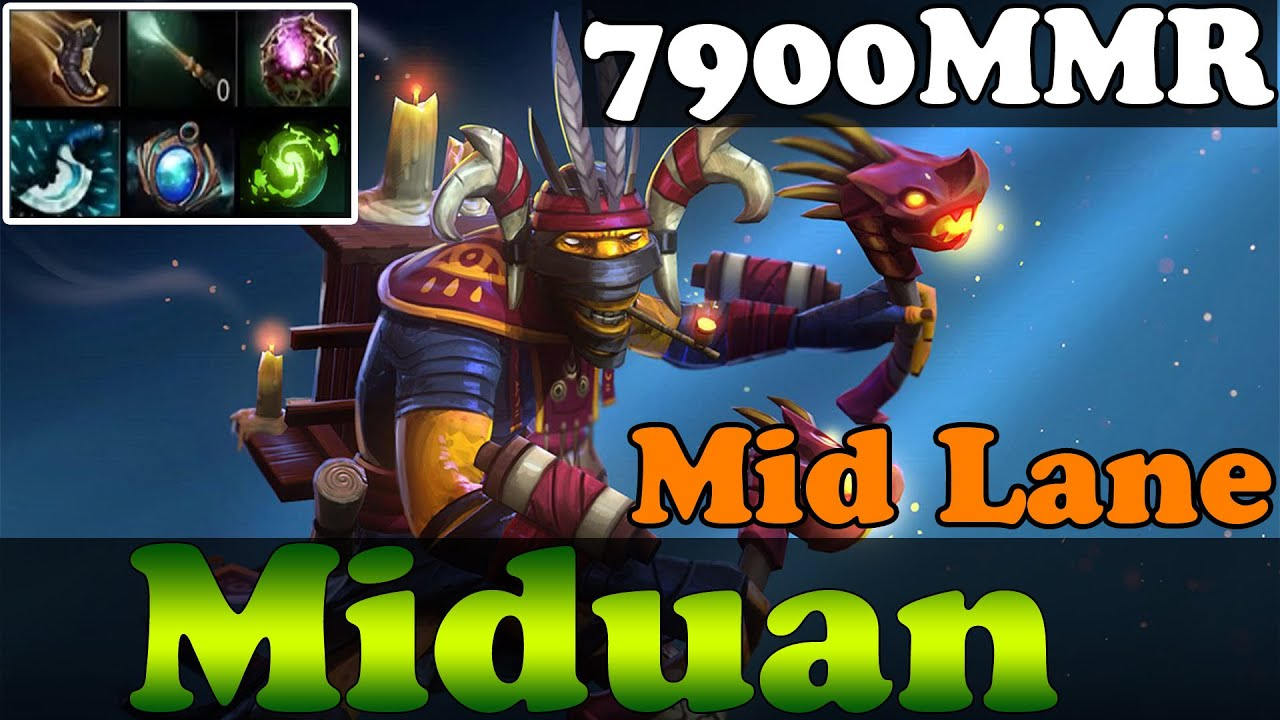 dota 2 miduan 7900mmr plays shadow shaman in mid lane full