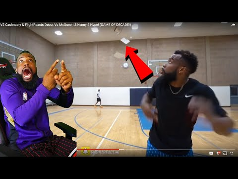 FLIGHT KICKED THE BALL THRU THE ROOF AFTER WE GOT CHEATED!! 2vs2 BASKETBALL