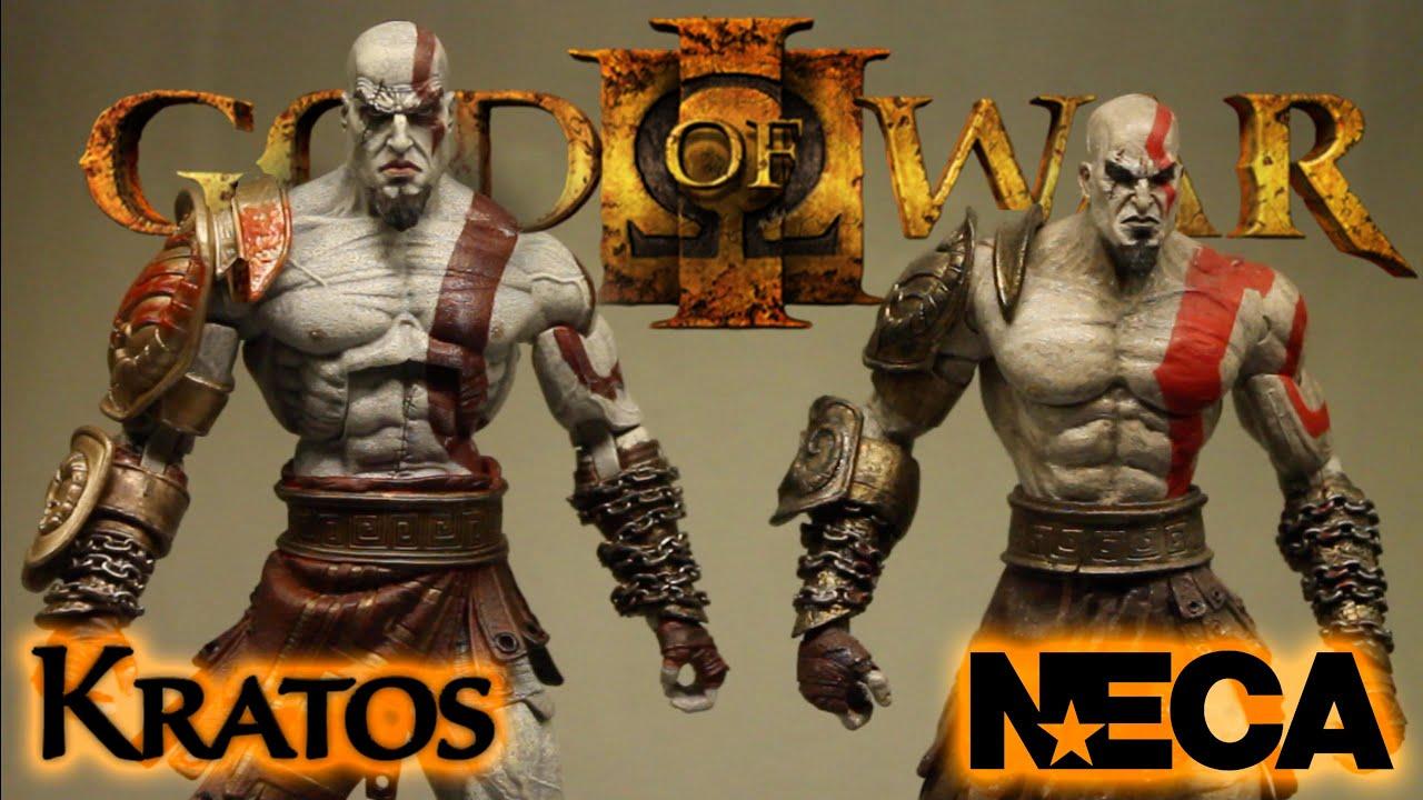 neca god of war iii kratos action figure review ultimate