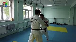 Mongolian Judo Academy Training