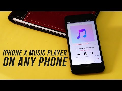 Get iPhone Xs Music Player on Any Android Phone : Ported from iOS 11