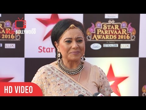 Neelu Vaghela - Bhabho At STAR Parivaar Awards 2016