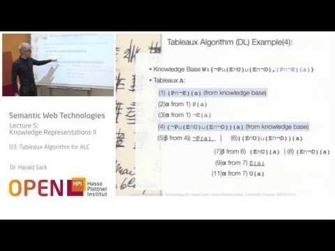05 - 03 Tableaux Algorithm for ALC