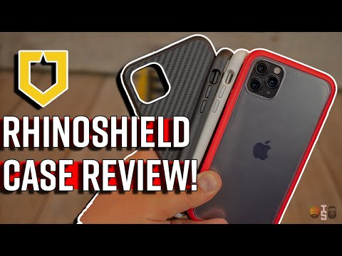Protect Your IPhone! RhinoShield CrashGuard NX & SolidSuit For The IPhone 11 Pro Max!