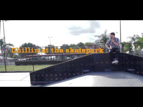 Chillin at the skatepark- Wellington Skatepark