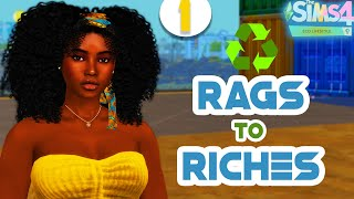 NEW LP♻️ Recycled Rags to Riches ♻️The Sims 4 Eco Lifestyle 🌿#1 THIS HARD
