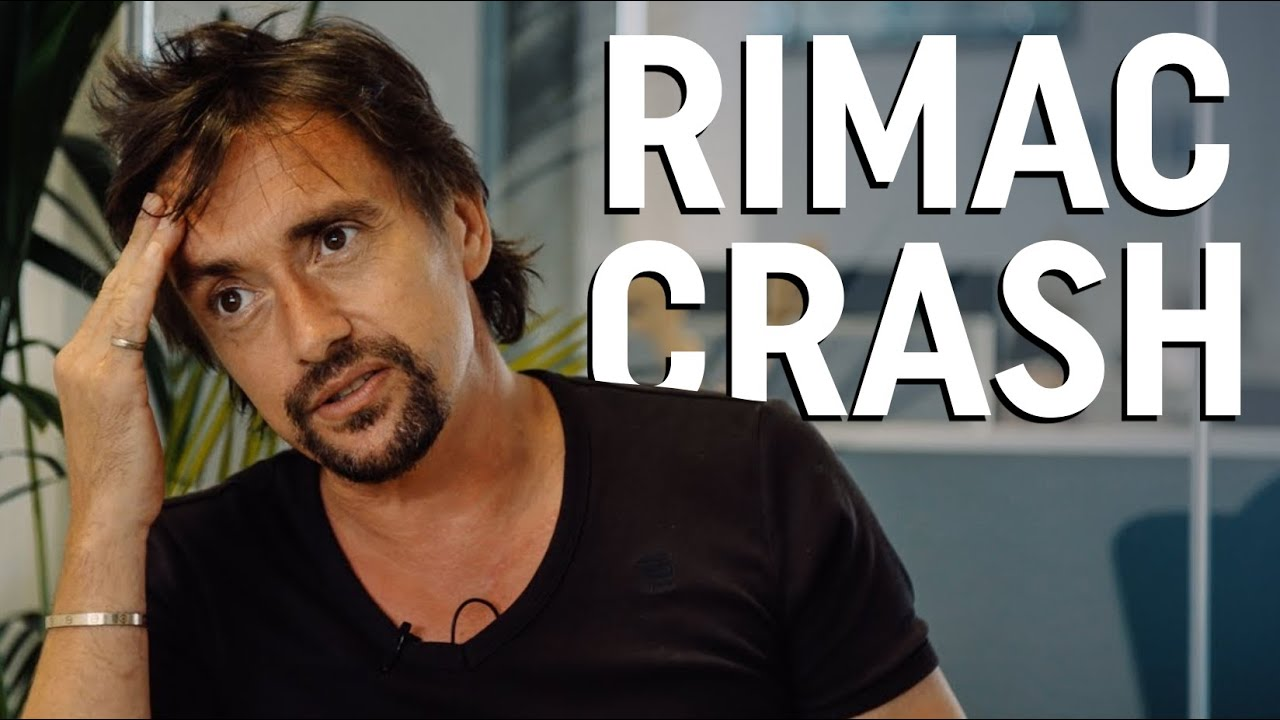 Richard Hammond discusses his Rimac crash