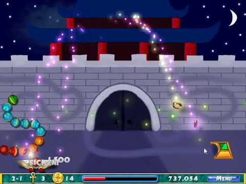 Luxor: The mysterious realm gameplay Stage 2 (Luxor 2 mod) |
