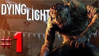 Dying Light Türkçe Co op  #1 - OHA!!! Dev Zombi