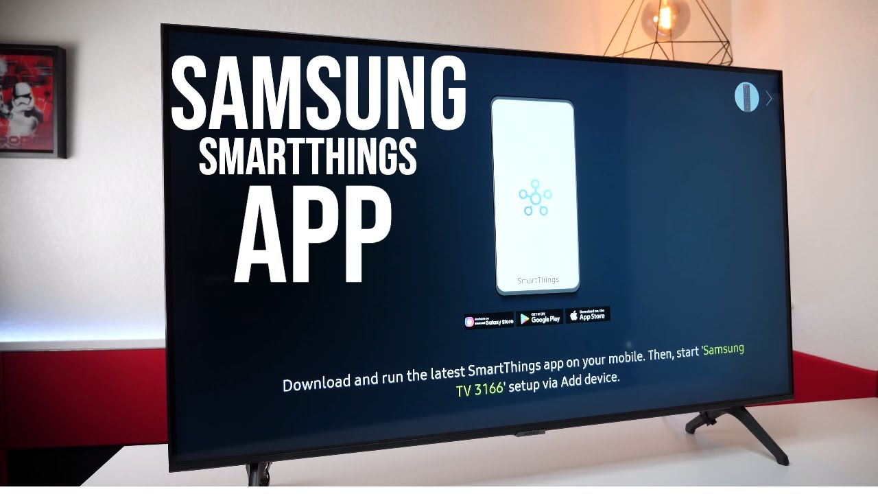 Smart Things App - How To Setup A Samsung 4K TV