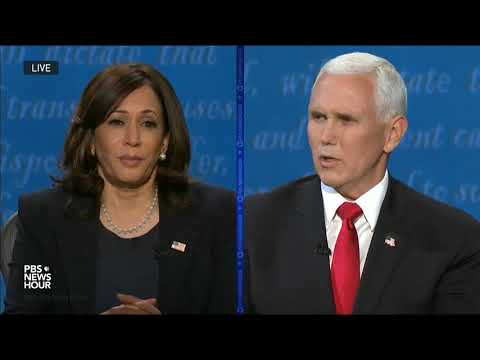 "VP Pence To Harris: ""Your Party Has Spent The Last 3.5 Years Trying to Overturn"" The Last Election"