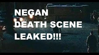 The Walking Dead Season 7 - NEGAN KILL SCENE - LEAKED IMAGES!!!