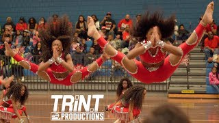 Dancing Dolls of Atlanta compete in the annual Bay Area Battle in M...