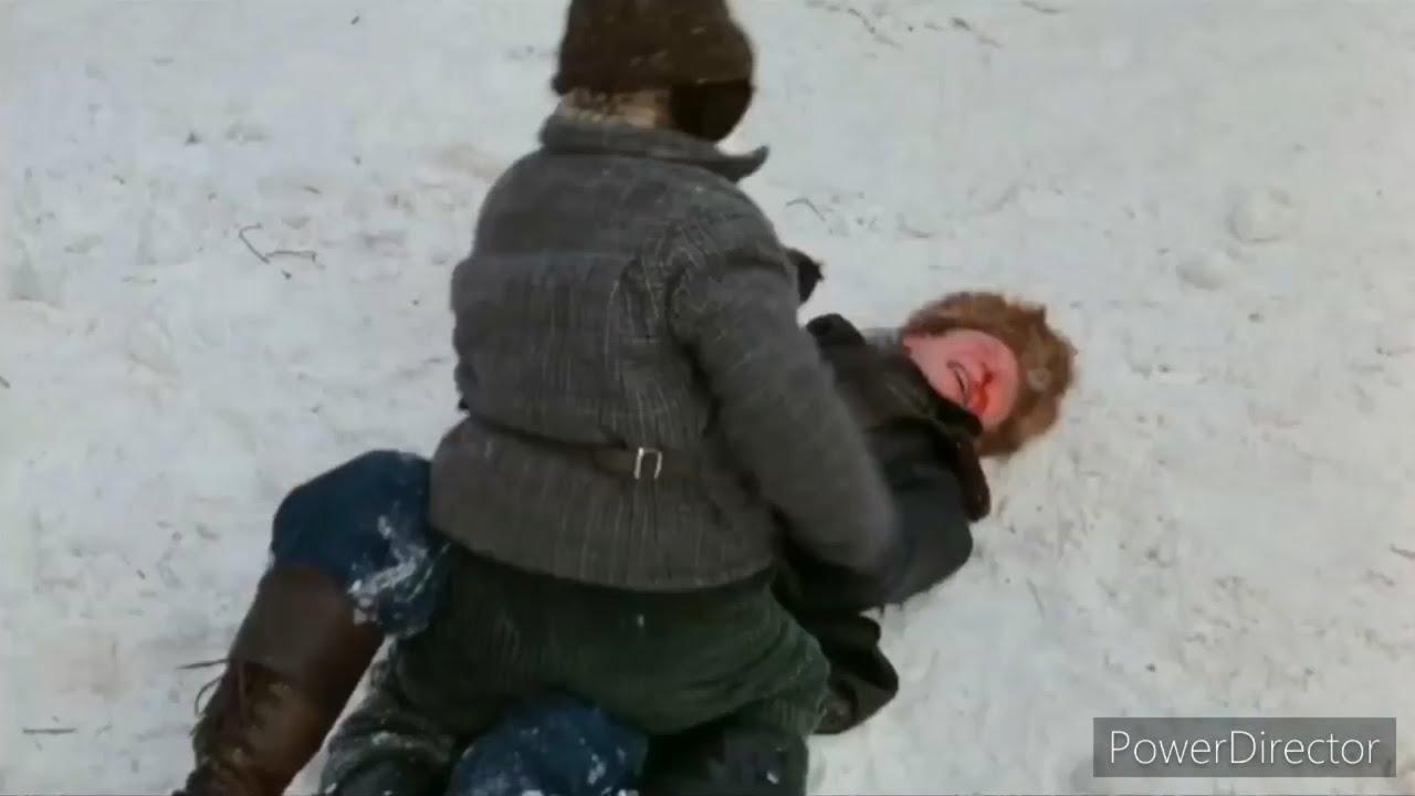 Download A Christmas Story (1983) - Ralphie Beats Up Bully Scut Farkus.