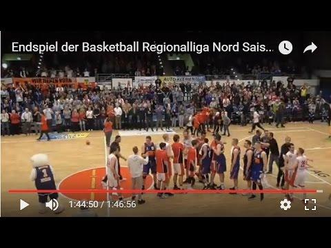 Endspiel der Basketball Regionalliga Nord Saison 16/17