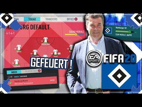 FIFA 20: EINE SAISON BEIM HSV  !! 🔥😍 | HSV Karrieremodus #0
