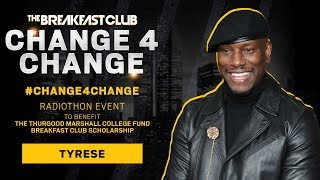 Tyrese Finds A Creative Way To Donate To The Breakfast Club's #Change4Change