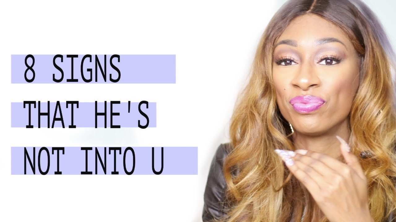 signs he is into u