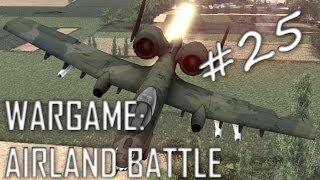 Wargame: Airland Battle Gameplay #25 (Kristiansund, 4v4)