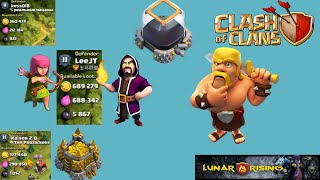 Clash of Clans- High loot farming raids! - Massive Loot! 2x 600K and 1.4 Million!!