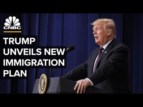 President Trump unveils new immigration plan - 5/16/2019