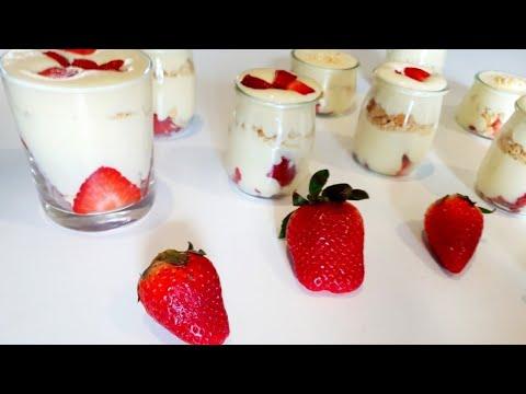 tiramisu-aux-fraises-🍓🍓simple-et-vite-fait