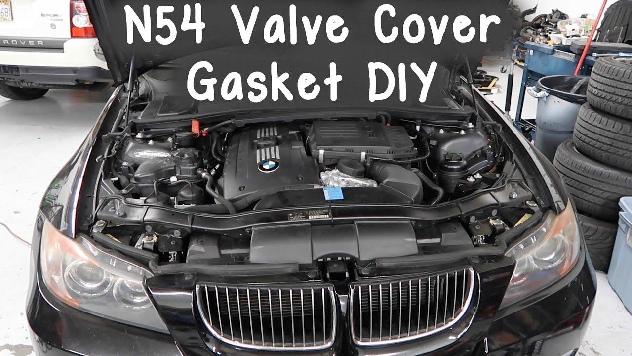 N54 Valve Cover Gasket Diy Bmw 335i E90 Youtube
