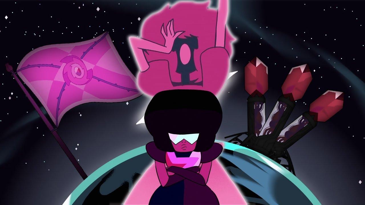 Garnet S Rose Pink Diamond War Flashback Is Wrong Steven