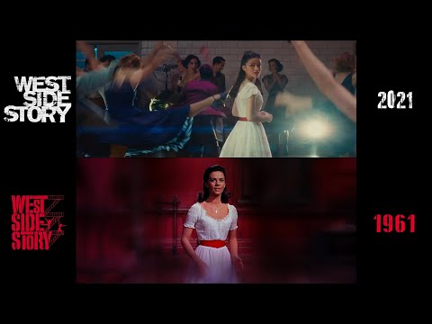 West Side Story (1961/2021) side-by-side comparison