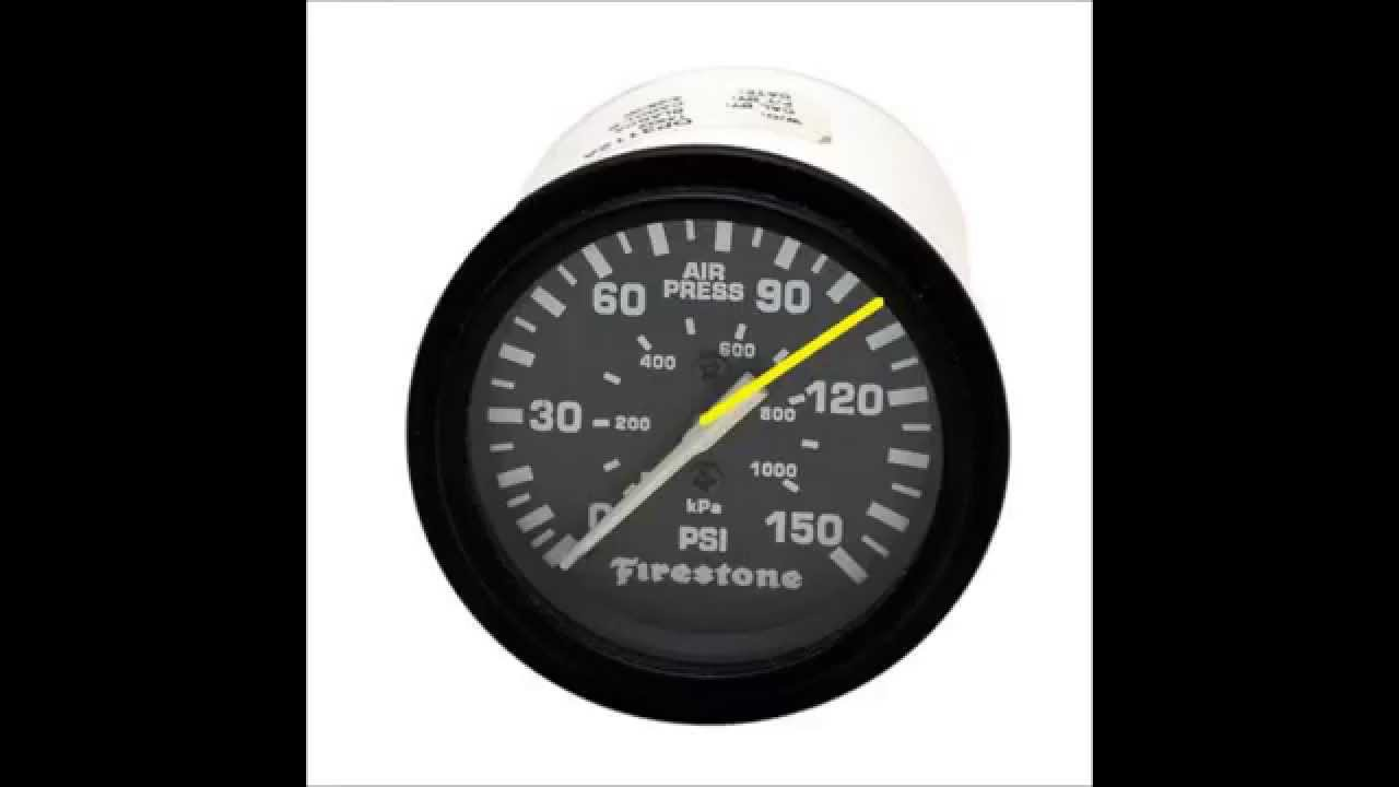 How to Read Air Pressure Gauges
