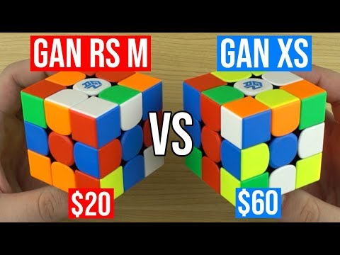 GAN RS M Vs  GAN XS - How Does GAN's Latest Budget Cube Compare?
