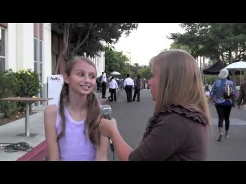 Sophia Strauss Interview at 3rd Annual ASPCA Rock N Roll LA Benefit