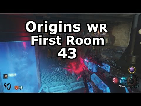 Origins First Room Round 43 World Record (classic gumballs only) PS4 black ops 3 zombies